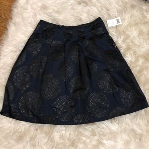 Vince a-lined Navy and black skirt - NEW